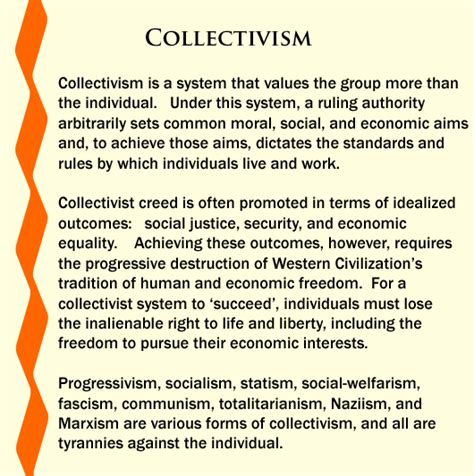 collective biography meaning collectivism vs individualism quotes quotesgram