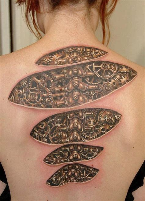 13 awesome steampunk tattoos
