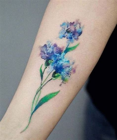watercolor tattoos aged fabulous watercolor flower design watercolour