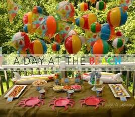 summer themes for adults summer c day at the beach playdate free printables