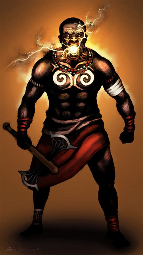 shango by zamnireo on deviantart
