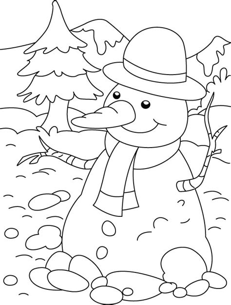 cute snowman coloring pages cute snowman coloring pages