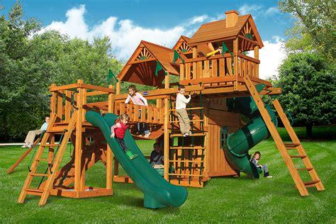 wooden swing sets on sale online wooden swing sets on sale online hunter s deluxe wooden
