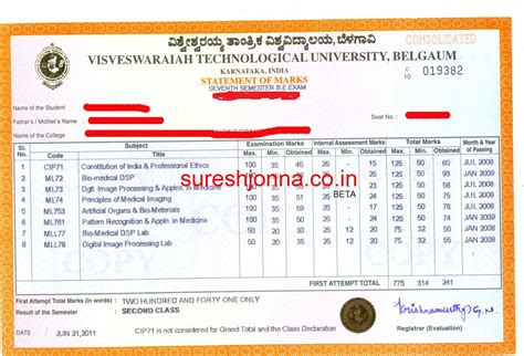Sample Examination Form Examination how to get consolidated marks cards of individaul