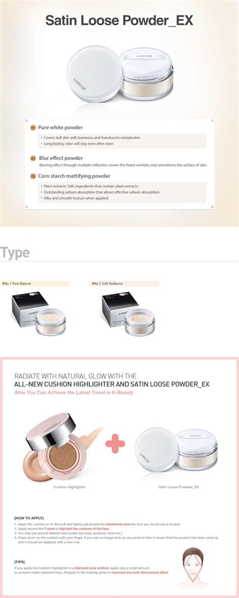 Harga Laneige Satin Finish Powder laneige satin finish powder ex seoul next by you