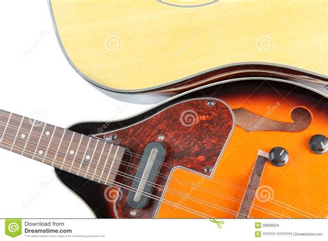 country style guitar country mandolin and guitar stock images image 30628524