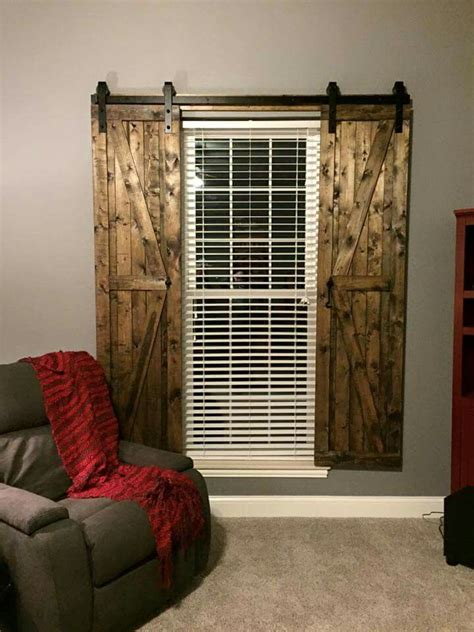 Barn Doors With Windows Ideas Barn Door Shutters Decor Pinterest A Well Sliding Doors And Doors