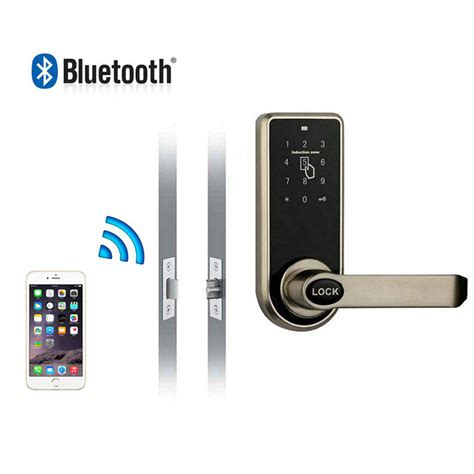 bluetooth door mobile phone remote smart locks