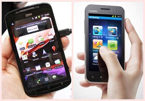 Hp Huawei Zte la estrategia de zte y huawei se dirige a los smartphones