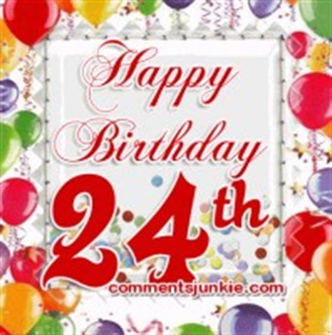 24 Years Birthday Quotes 24 Years Old Birthday Quotes Quotesgram