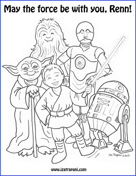 printable coloring pages of yoda star wars yoda coloring pages sketch coloring page