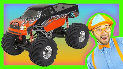 monster truck kids video monster trucks for kids learn numbers and colors youtube