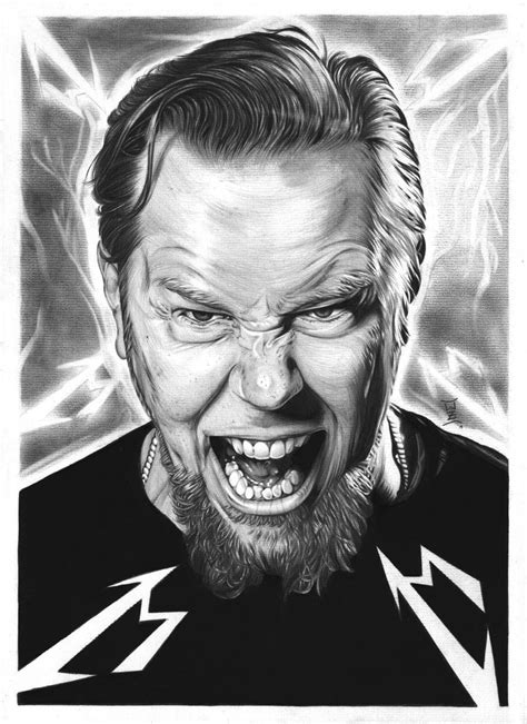 james hetfield by eir wiscium on deviantart
