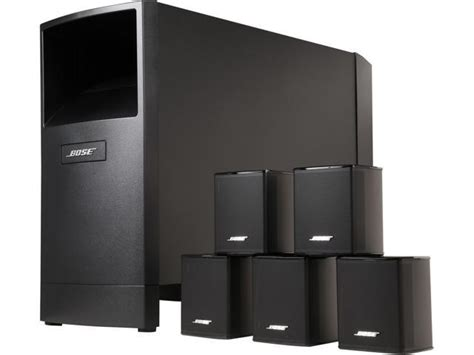 bose acoustimass  series  home theater speaker system ebay
