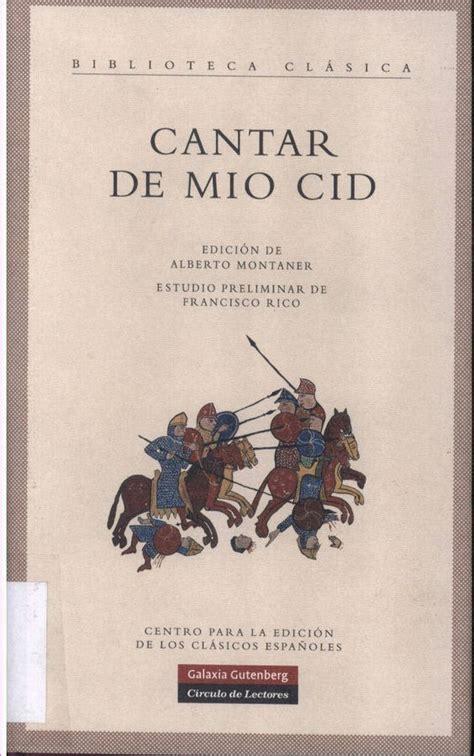 espa 241 ol medieval wikiwand cantar de mio cid ejemplo los g 201 neros literarios ppt video online descargar cantar de mio