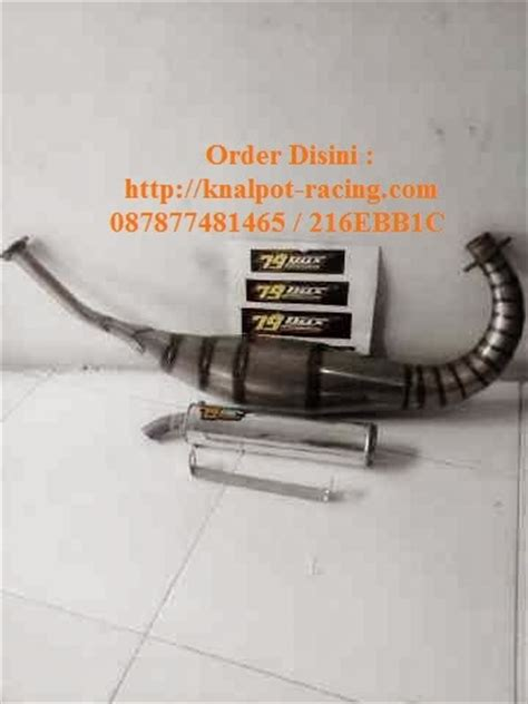 Knalpot Racing R Dan Rr Crum Leher C Silincer Half Blue Info Korek Mesin Motor Knalpot Racing