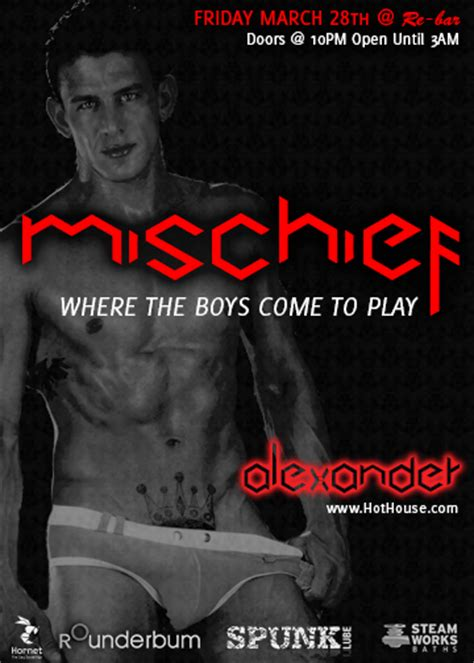 hot house gay mischief rounderbum looking for a model winner goes to l a seattle gay scene