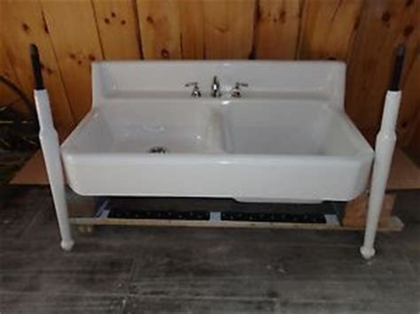 Kitchen Sink With Legs Antique Cast Iron Farm Farmhouse Vintage Apron Kitchen Sink Legs