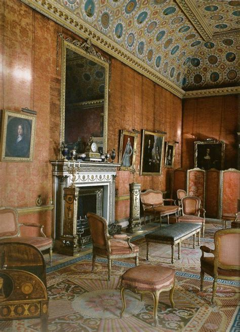 red drawing room  syon house late  century