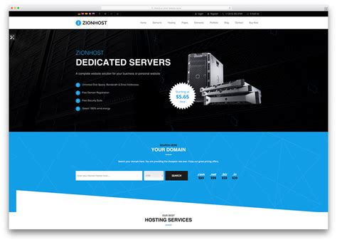 free best hosting 20 best hosting themes with whmcs integration