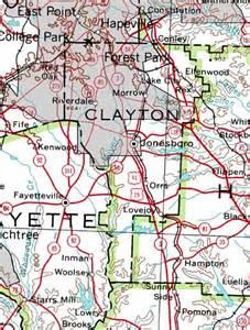 map of clayton county georgiainfo