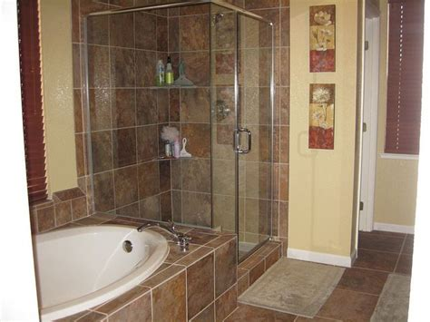 earth tone bathroom designs bathroom remodeling idea darker tile with warm earth tone