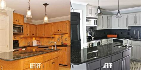 pics of painted kitchen cabinets how to paint kitchen cabinets without sanding or priming