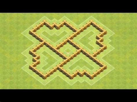 coc nazi layout clash of clans beste aufstellung mit rathaus level 5 be
