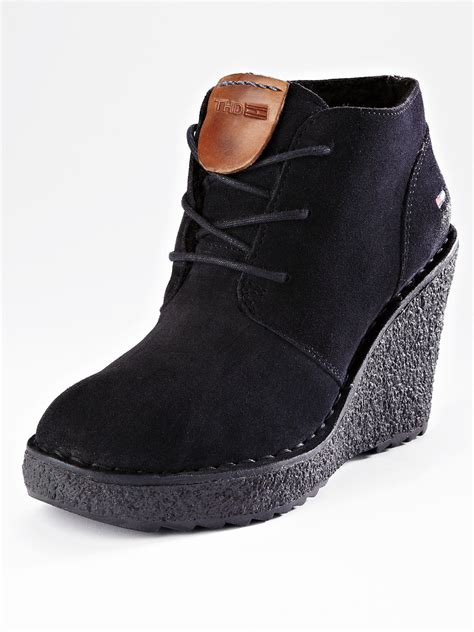 hilfiger hilfiger gill 1 lace up ankle boots
