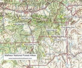 day hikes in the malheur national forest
