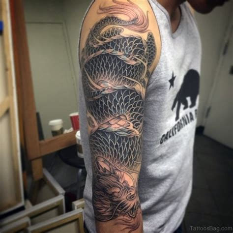 dragon tattoo sleeve 52 magnificent tattoos on sleeve