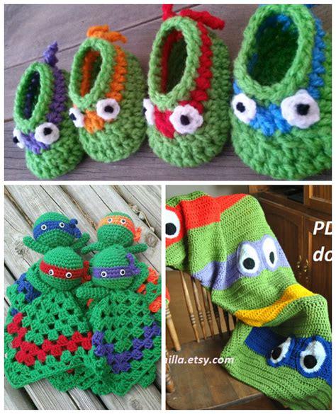 crochet pattern ninja turtle blanket the cutest ninja turtle crochet patterns crafty morning