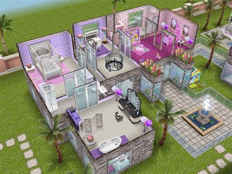 barbie dream house floor plan 24 best the sims house images on pinterest