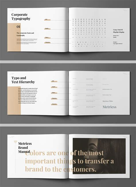 brochure layout design rules best 25 brand manual ideas on pinterest manual brand
