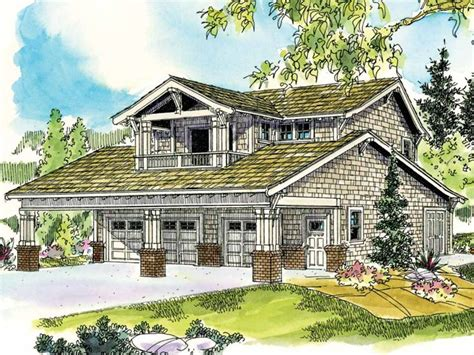 shop apartment plans carriage house plans craftsman style garage apartment plan with 3 car garage design 051g