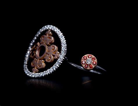 Corona Orange Ori anello oro rosso e diamanti di gregorio gioielli