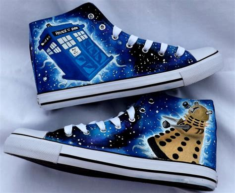 dr who sneakers doctor who shoes