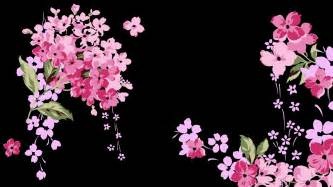 Small Home Interior Decorating pink and black flower wallpaper beautiful pink decoration