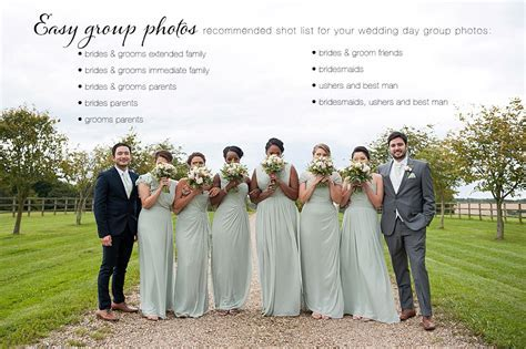 Wedding top tips / Group photos made easy