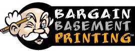 cheap printing at bargainbasementprinting com