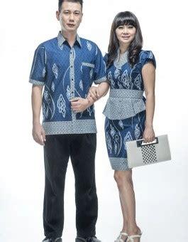 Melina Batik ekslusive sarimbit batik dress kondangan melina awan biru