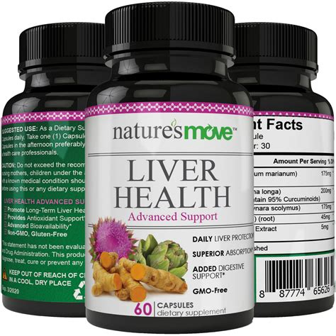 Liver Detox Symptoms Milk Thistle by Liver Health Liver Detox Support Formula Milk Thistle
