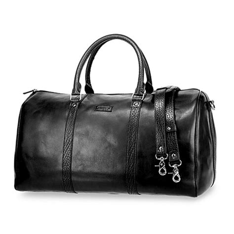 domani zipped tote bag buy ellington domani collection leather duffel bag from