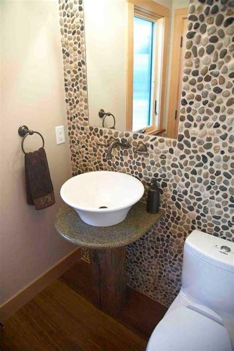 Half Bathroom Decoration Ideas by Sorprendentes Ideas Para Decorar Con Piedras De R 237 O