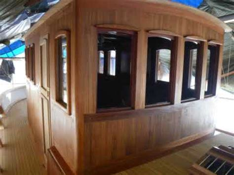 """Wooden boat building  """"Noroy"""" story   YouTube"""