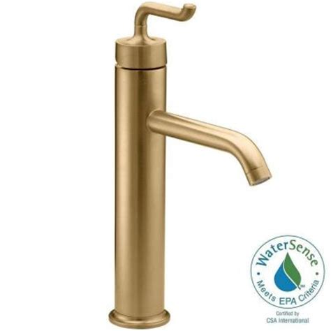 Brushed Gold Faucet by Kohler Purist 1 Single Single Handle Low