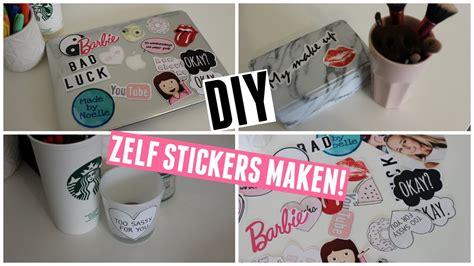 Auto Sticker Zelf Maken by Simpele Diy Je Eigen Stickers Maken Madebynoelle Doovi