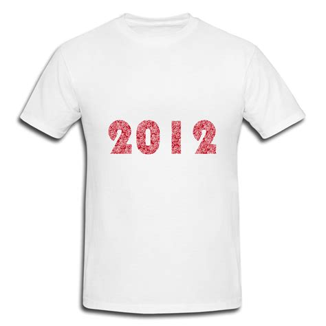 Personalized Shirts Custom Shirts Images Lucky Cloud 2012 New Year T Shirt