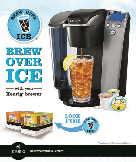A Ladybug on The Go: Keurig Brew Over Ice Review and #Giveaway / #Sweepstakes