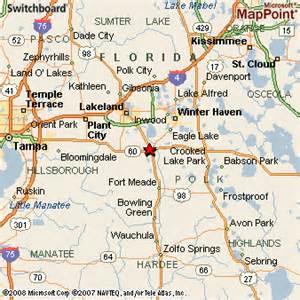 map of bartow florida bartow florida